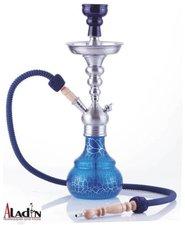 Waterpijp Aladin Berlin blauw (50cm)