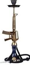 MOB M-16 waterpijp zwart/goud 85cm