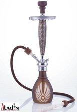 Waterpijp Aladin Bangkok bruin (69cm)