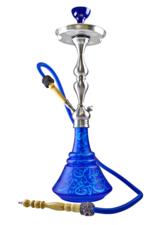 Waterpijp Aladin Roy30 blue/turquoise (65cm)