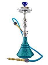 Waterpijp Aladin Roy30 turquoise (65cm)