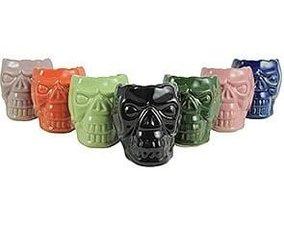 Waterpijp tabakskop skull groen