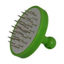 Waterpijp gaatjesprikker aluminiumfolie groen