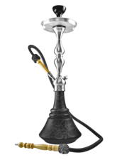 Waterpijp Aladin Roy30 black (65cm)