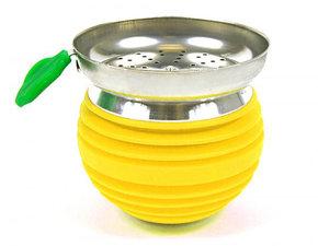 Tabakskop luxe geel