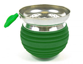 Tabakskop luxe groen