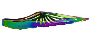 Kolentang waterpijp wing regenboog (ca. 22,5cm)