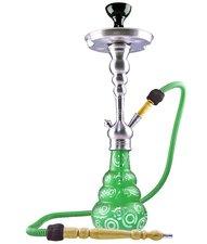 Waterpijp Aladin ROY20 groen (56cm)