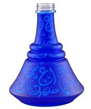 Waterpijpvaas met Arabische tekens Aladin blauw