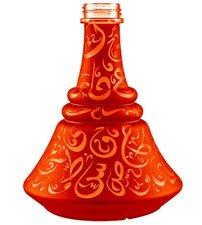 Waterpijpvaas met Arabische tekens Aladin rood