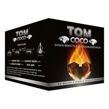 Waterpijpkooltjes cocos (TOM Coco) 1kg diamond