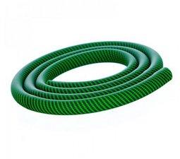 Aladin waterpijpslang siliconen carbon groen