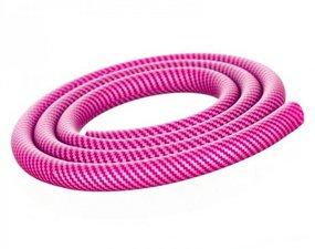 Aladin waterpijpslang siliconen carbon roze