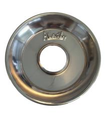 Aladin waterpijp as opvang schaal zilver (16 cm)