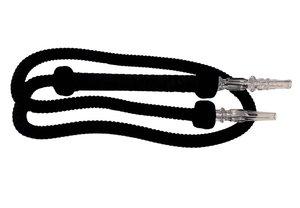 Waterpijpslang zwart (180 cm)