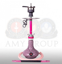 Waterpijp Amy Deluxe Carbonica Hybrid S roze (61 cm)