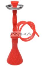 Waterpijp Fata Morgana (rood) 51cm