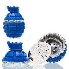 Tabakskop granaat blauw