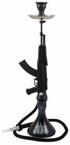 MOB AK-47 waterpijp zwart 85cm