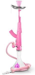 MOB AK-47 waterpijp roze 85cm (zonder tabakskop)