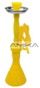 Waterpijp Fata Morgana (geel) 51cm
